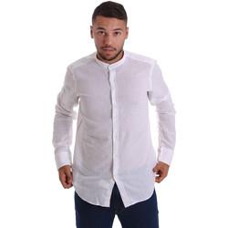 Vêtements Homme Chemises manches longues Gmf 971306/01 Blanc