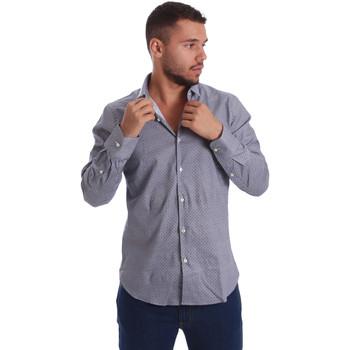 Vêtements Homme Chemises manches longues Gmf 971185/03 Noir
