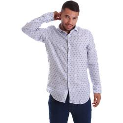 Vêtements Homme Chemises manches longues Gmf 971312/01 Bleu