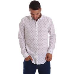 Vêtements Homme Chemises manches longues Gmf 971200/01 Blanc