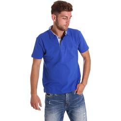 Vêtements Homme Polos manches courtes Bradano 000116 Bleu