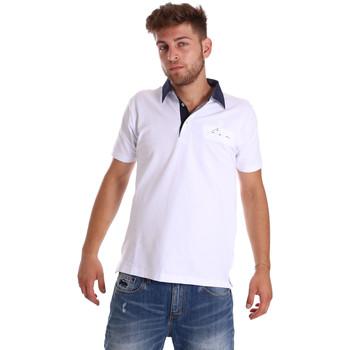 Vêtements Homme Polos manches courtes Bradano 000115 Blanc