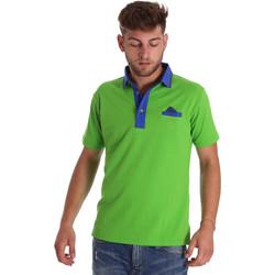 Vêtements Homme Polos manches courtes Bradano 000114 Vert