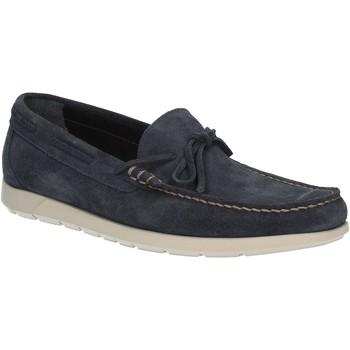 Chaussures Homme Mocassins Maritan G 460363 Bleu