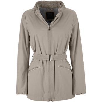 Vêtements Femme Parkas Geox W7223F T2334 Beige