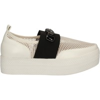 Chaussures Femme Slip ons Solo Soprani C460 Blanc