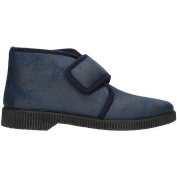 Chaussures Homme Chaussons Clia Walk HOME126 Bleu