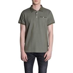 Vêtements Homme Polos manches courtes Deeluxe Polo JAP Khaki