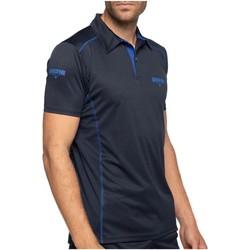Vêtements Homme Polos manches courtes Shilton Polo training sport dept Bleu marine