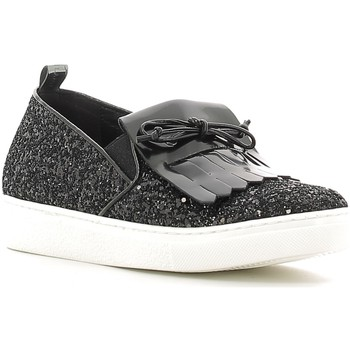 Chaussures Femme Slip ons Grunland SC2075 Noir