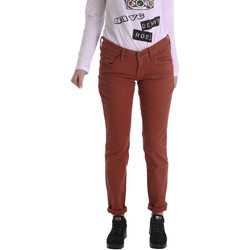 Vêtements Femme Pantalons 5 poches Fornarina BIR1G41G28050 Marron