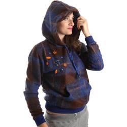 Vêtements Femme Sweats Y Not? Y17AI074 Bleu