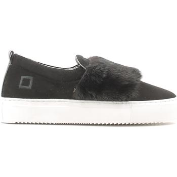 Chaussures Femme Slip ons Date A251-SL-FU-BK Noir