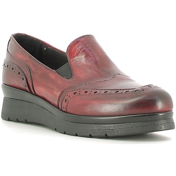 Chaussures Femme Mocassins Rogers 1522 Rouge