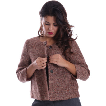 Vêtements Femme Manteaux Gazel AB.CS.GI.0043 Rose