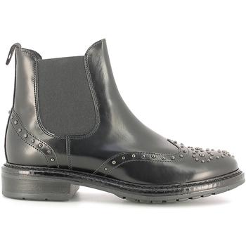 Chaussures Femme Bottines Soldini 19960-B Noir