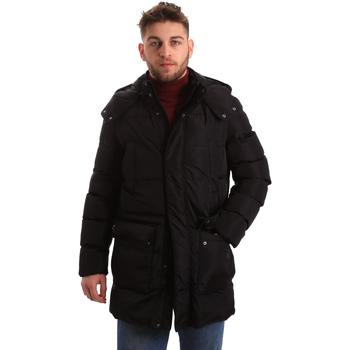 Vêtements Homme Doudounes Geox M84P8B T2422 Noir