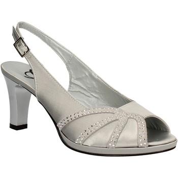Chaussures Femme Sandales et Nu-pieds Grace Shoes E7793 Gris