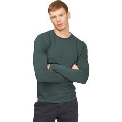 Vêtements Homme T-shirts manches longues Gas 300187 Vert