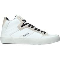 Chaussures Homme Baskets montantes Guess FM8STA LEA12 Blanc