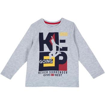 Vêtements Enfant T-shirts manches longues Chicco 09006867000000 Gris