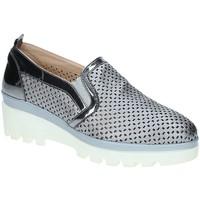 Chaussures Femme Mocassins Grace Shoes J306 Gris