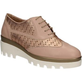 Chaussures Femme Richelieu Grace Shoes J303 Rose