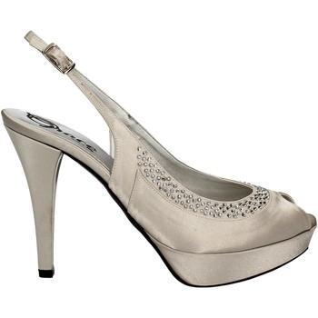 Chaussures Femme Sandales et Nu-pieds Grace Shoes 2046 Argent