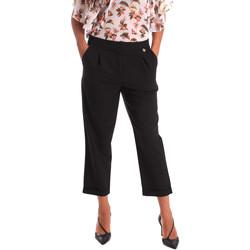 Vêtements Femme Chinos / Carrots Y Not? 17PEY066 Noir