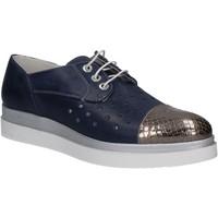 Chaussures Femme Derbies Keys 5107 Bleu