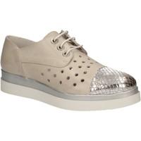 Chaussures Femme Derbies Keys 5107 Gris