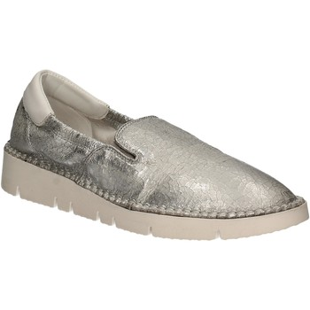 Chaussures Femme Slip ons Keys 5075 Argent