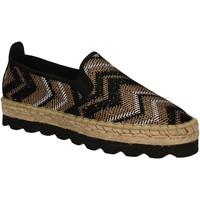 Chaussures Femme Espadrilles Keys 5345 Noir