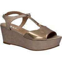 Chaussures Femme Sandales et Nu-pieds Mally 5667 Gris