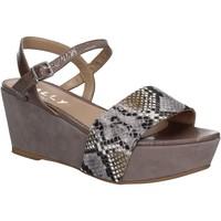 Chaussures Femme Sandales et Nu-pieds Mally 5671 Gris
