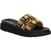 Chaussures Femme Claquettes Byblos Blu 672102 Noir