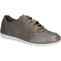 Chaussures Femme Baskets basses Clarks 123804 Argent