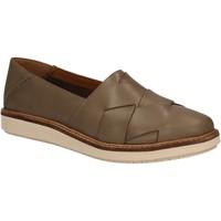 Chaussures Femme Slip ons Clarks 123015 Vert