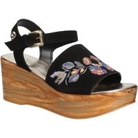 Chaussures Femme Sandales et Nu-pieds Byblos Blu 672210 Noir