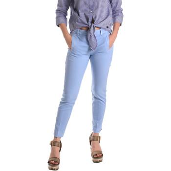 Vêtements Femme Chinos / Carrots Fornarina BE171L74G29118 Bleu