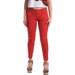 Vêtements Femme Chinos / Carrots Fornarina BE171L74G29176 Rouge