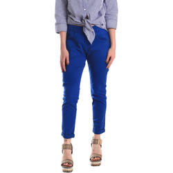 Vêtements Femme Chinos / Carrots Fornarina BE171L75G29112 Bleu