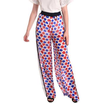 Vêtements Femme Pantalons fluides / Sarouels Fornarina BE171L91CA0676 Blanc