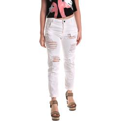 Vêtements Femme Jeans boyfriend Fornarina BE171L94D877KM Blanc
