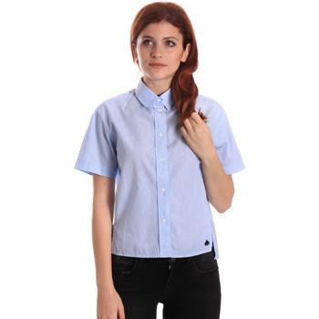 Vêtements Femme Chemises / Chemisiers Fornarina BE174567CA1218 Bleu