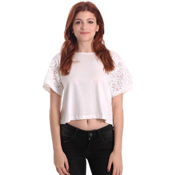 Vêtements Femme Tops / Blouses Fornarina BE175J88JG1309 Blanc