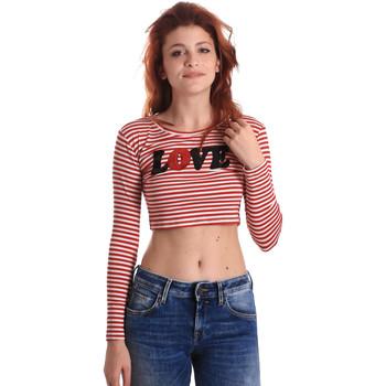 Vêtements Femme T-shirts manches longues Fornarina BE175L14JG0976 Rouge