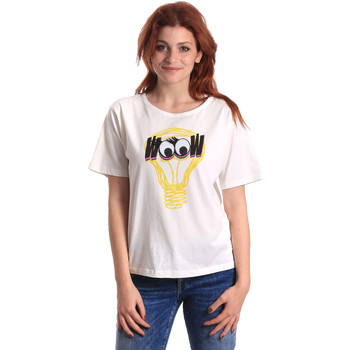 Vêtements Femme T-shirts manches courtes Fornarina BE175L27JG1608 Blanc