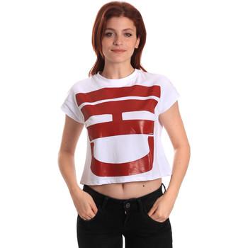Vêtements Femme T-shirts manches courtes Fornarina BE175L31JG0709 Blanc