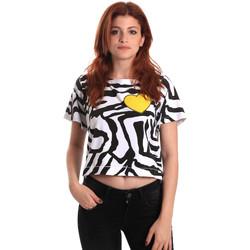 Vêtements Femme T-shirts manches courtes Fornarina BE175L35JG0700 Noir